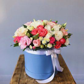 коробок цветов