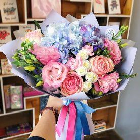 завораживающий букет цветов