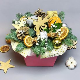 рождественская композиция оливас