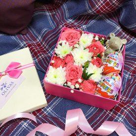 подарок с сюрпризом