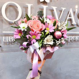 цветы в коробочке