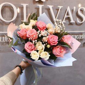 букет из веточных роз