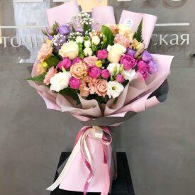 сборный букет цветов феодосия